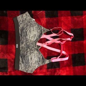 Victoria secret cross back sports bra